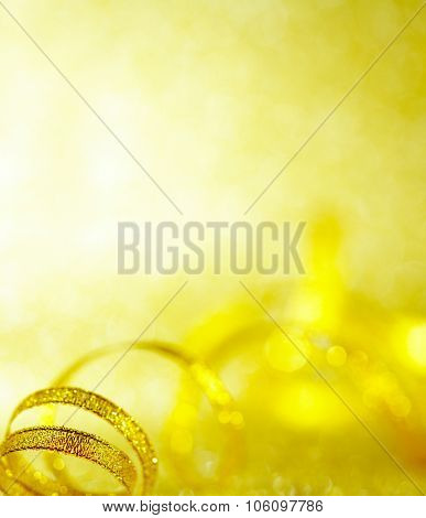 Gold background decorating Christmas, Chinese New Year.