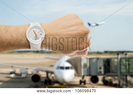 It's The Time To Departure Flight