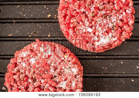 Frozen Hamburger