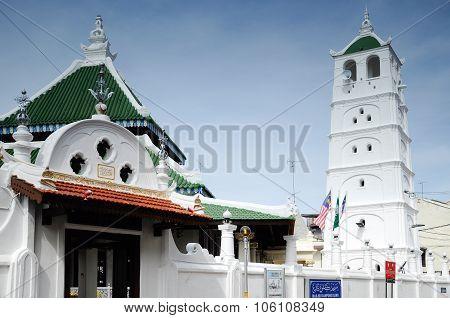 Kampung Kling Mosque at Malacca, Malaysia