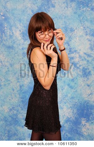 Business Girl on the phone