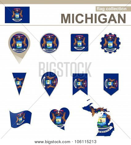 Michigan Flag Collection