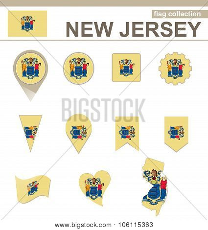 New Jersey Flag Collection