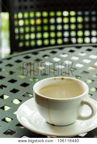 Cup With Coffee Stain