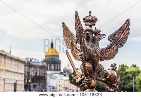 Double Eagle. Palace Square. The Central Historical Part Of T