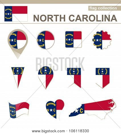 North Carolina Flag Collection