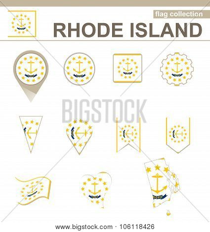 Rhode Island Flag Collection
