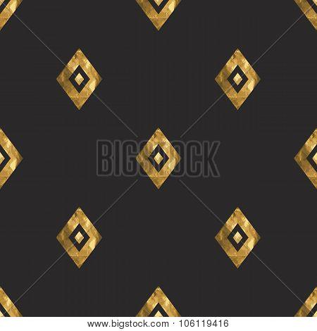 Tribal Gold Ornament