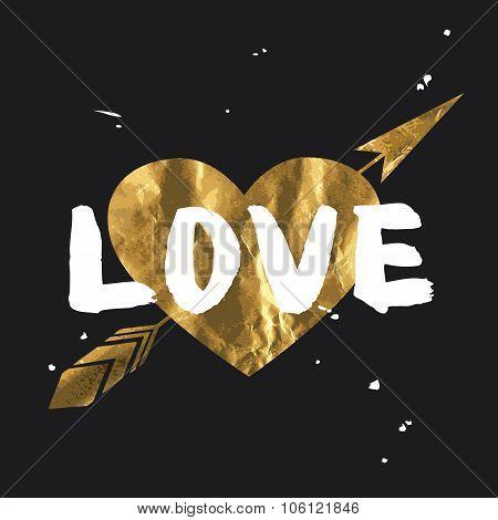Love - Lettering Design.