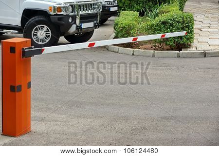 Car Parking Control System, Automatic Rising Arm Barrier