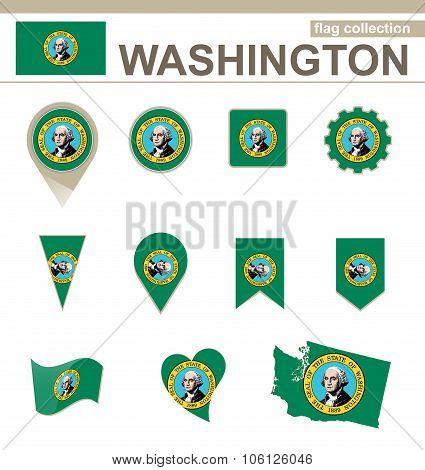Washington Flag Collection