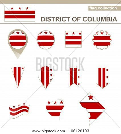 District Of Columbia Flag Collection