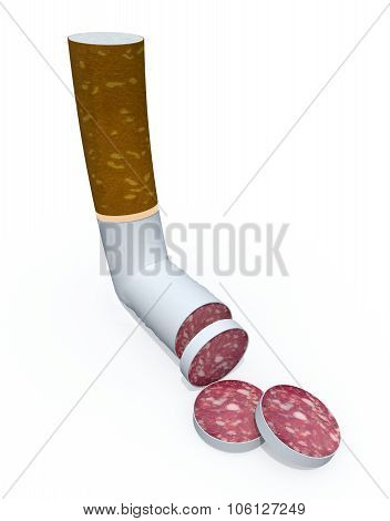 Cigarette Sliced Like Salami