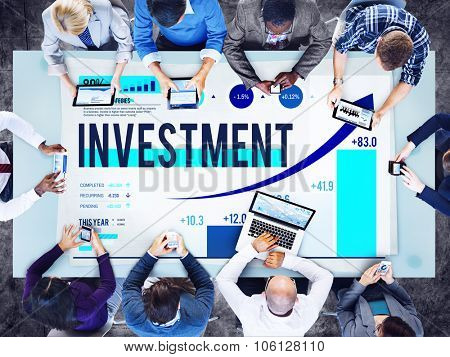 Investment Business Financial Money Budget Concept