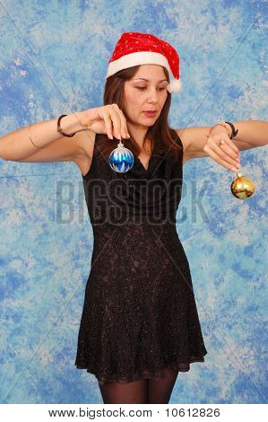Christmas Ornaments Woman