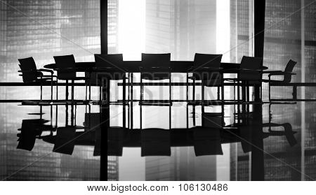 Meeting Table Conference Room Concept
