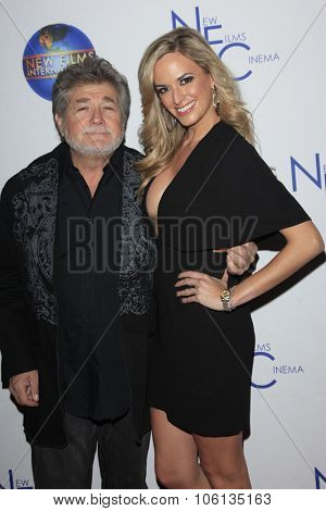 LOS ANGELES - OCT 24:  Straw Weisman, Jena Sims at the