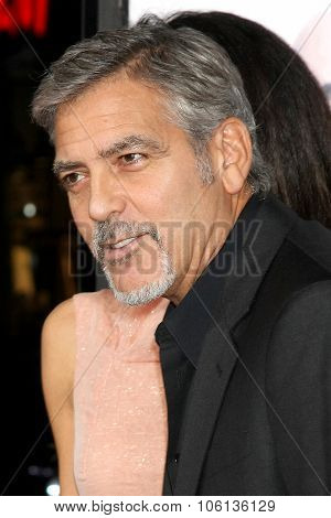LOS ANGELES - OCT 26:  George Clooney at the