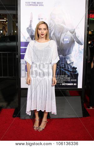 LOS ANGELES - OCT 26:  Zoe Kazan at the