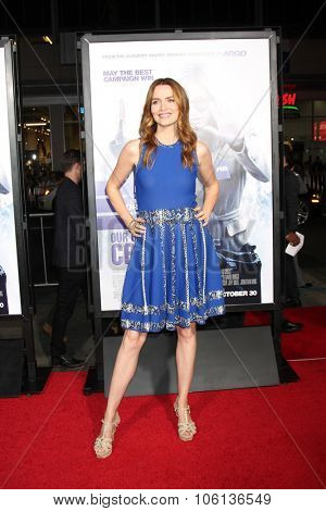 LOS ANGELES - OCT 26:  Saffron Burrows at the