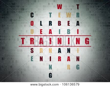 Learning concept: Training in Crossword Puzzle