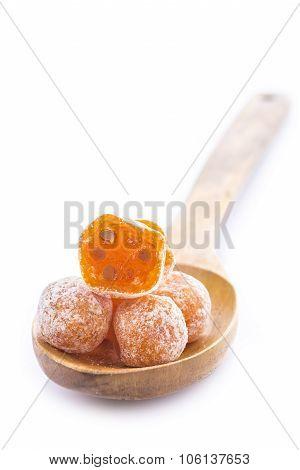 Kumquats Isolated On White Background