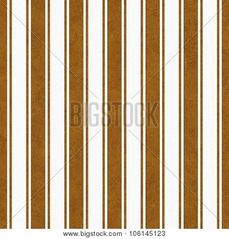 Brown And White Striped Tile Pattern Repeat Background