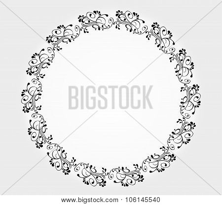 decorative frame - vector illustration