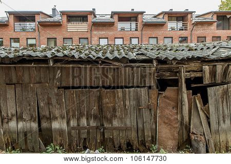 Wooden Warehouses