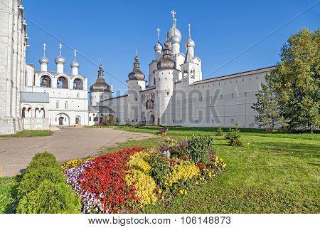 Church Of The Resurrection In Rostov Kremlin
