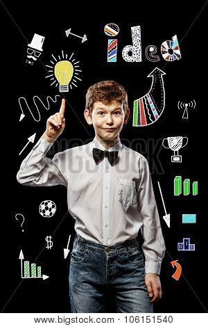 Cool Idea Of A Young Businessman