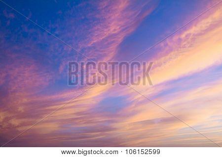 Beautiful Crimson Sunset