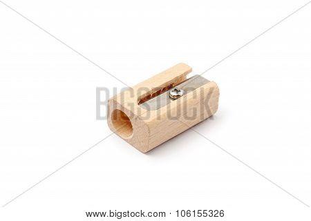 wood pencil sharpener
