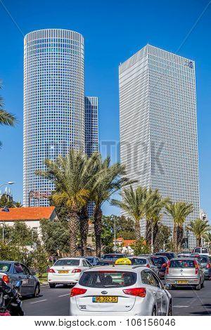 Israel. Central part of Tel Aviv