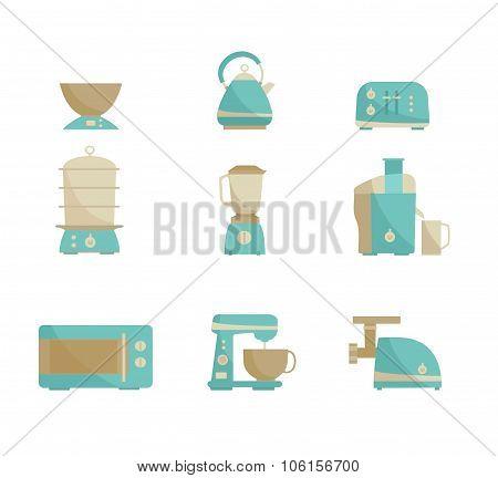 Kitchen appliances collection