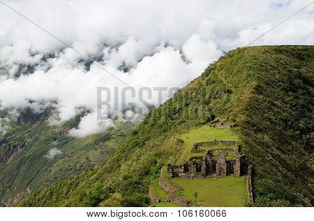 Peru, Remote Spectacular The Inca Ruins Of Choquequirao