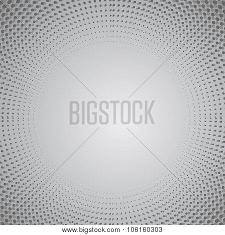 Grey Halftone Pattern