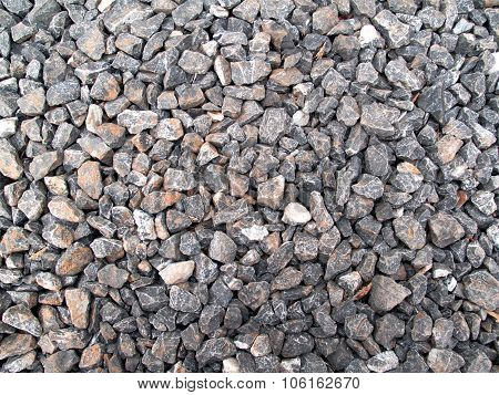 Scree, The Materials Used In Construction.