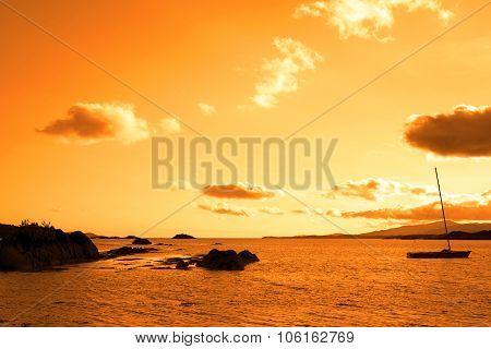 Wild Atlantic Way Sunset View Ireland