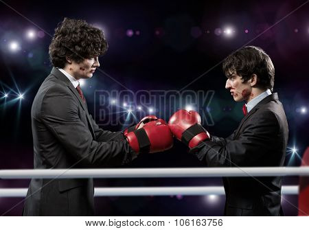 Business competitors