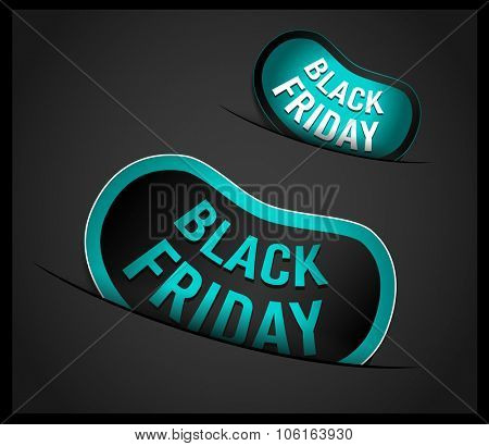 Black Friday Super Sale promotional Stick banners for your flyer, marketing posters, promotional materials and printed flyers