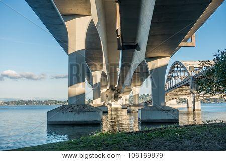 Seattle Bridge - Under