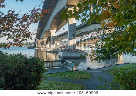 Seattle Bridge - Beneath