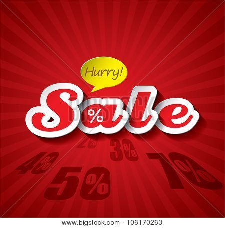 Sale Vector Design