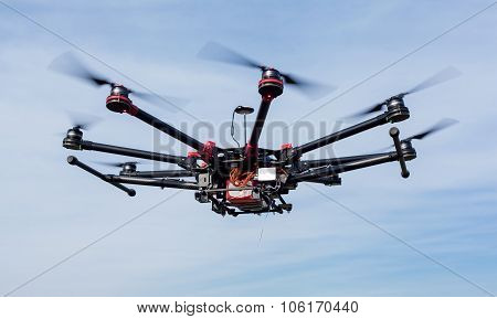 Octocopter, copter, quadrocopter