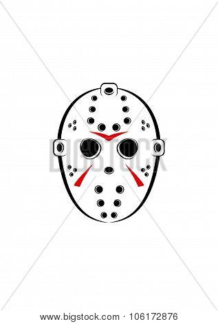 Horror Hockey Mask