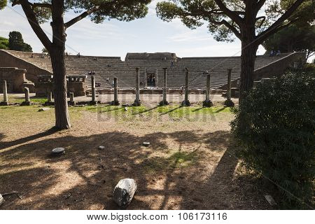 OSTIA ANTICA - OCTOBER 28