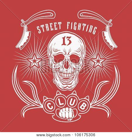 Street Fighting Club Emblem