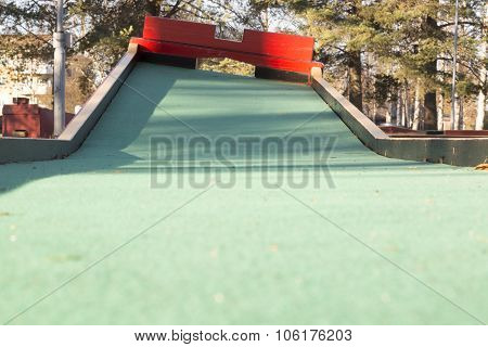 Miniature Golf Course Obstacle