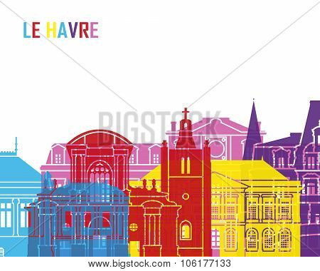 Le Havre Skyline Pop